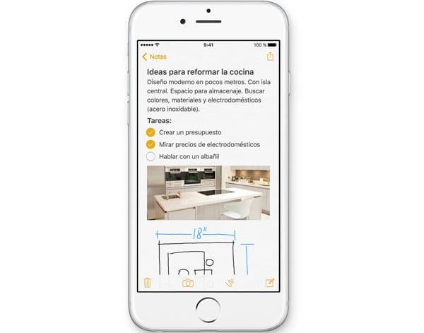 Notas en iOS9