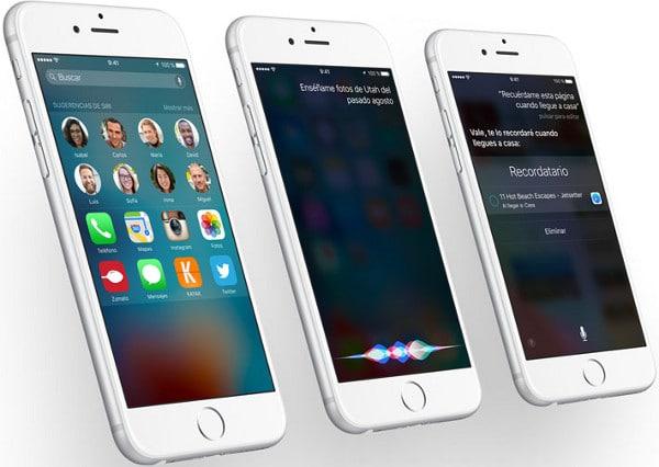 Siri en iOS9