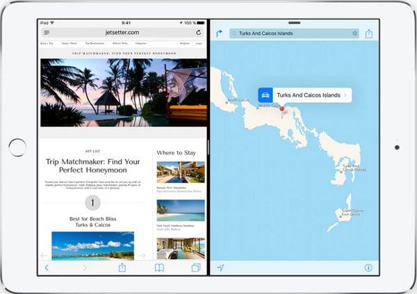 Dividir la pantalla en iOS9