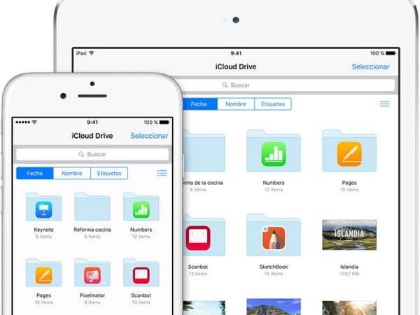 iCloud en iOS9