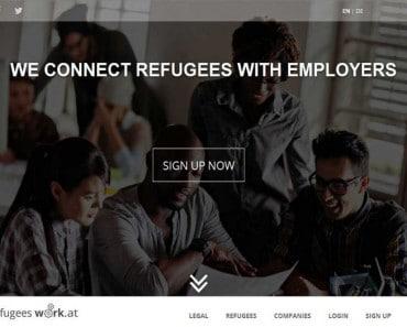 Plataforma web de empleo para refugiados, Refugees Work