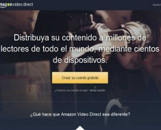 Amazon Video Direct, nuevo servicio de vídeos de Amazon