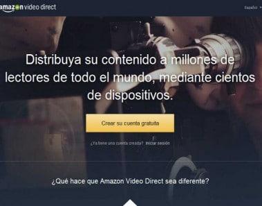 Amazon Video Direct, nuevo servicio de vídeos de Amazon
