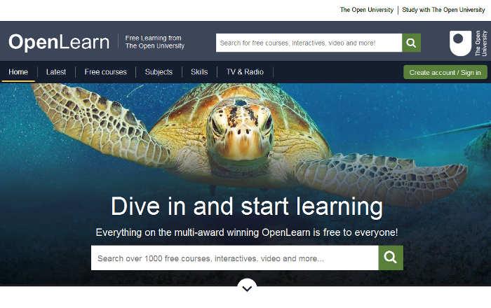 Sitios para aprender cosas nuevas en Internet: OpenLearn