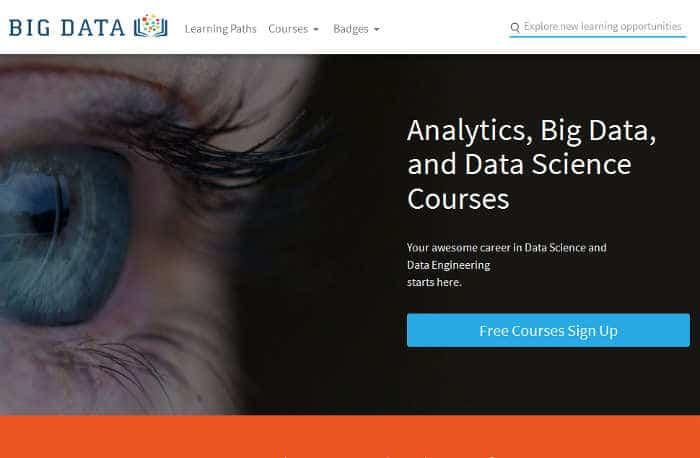 Sitios para aprender cosas nuevas en internet: Big Data University