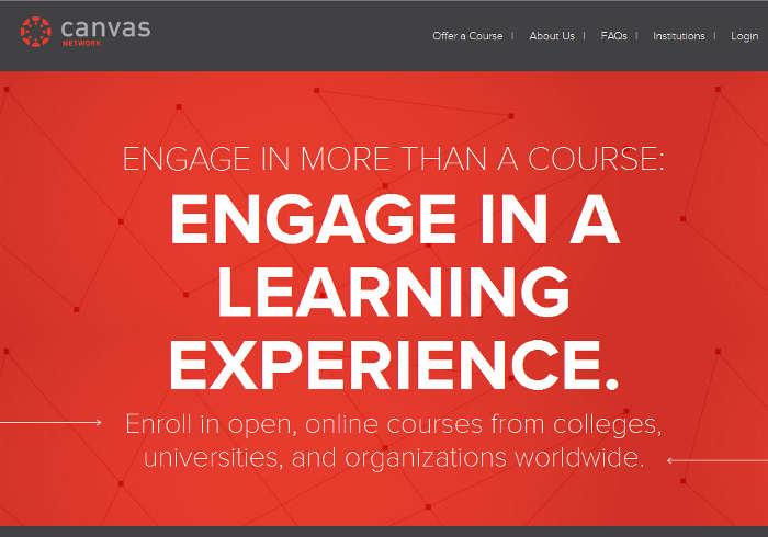 Sitios para aprender cosas nuevas en Internet: Canvas Network