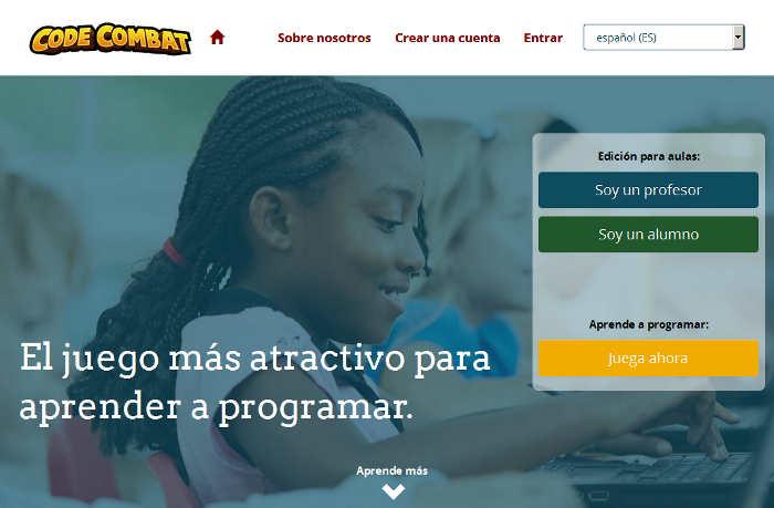 Sitios para aprender cosas nuevas en internet: Codecombat