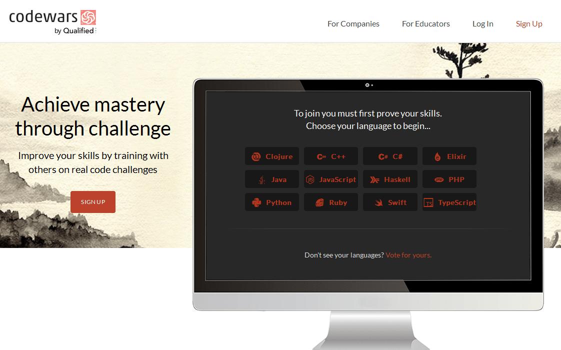 Sitios para aprender cosas nuevas en internet: Codewars
