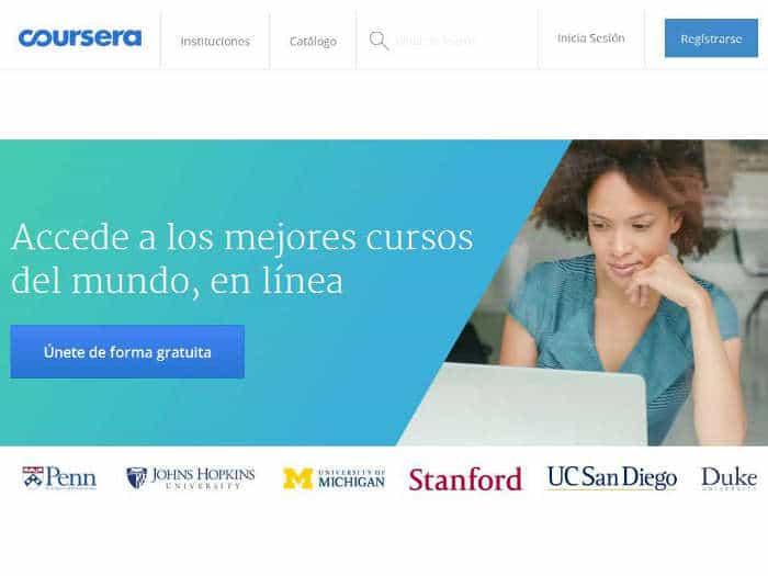 Sitios en los que aprender cosas nuevas en Internet: Coursera