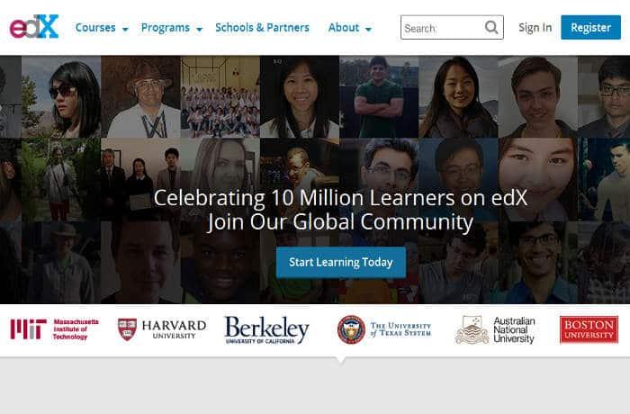 Sitios para aprender cosas nuevas en Internet: Edx