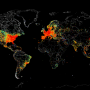 Mapa de Internet en el Mundo: un planeta conectado