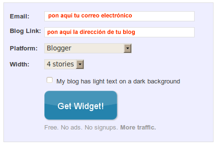 poner enlaces relacionados en blogger
