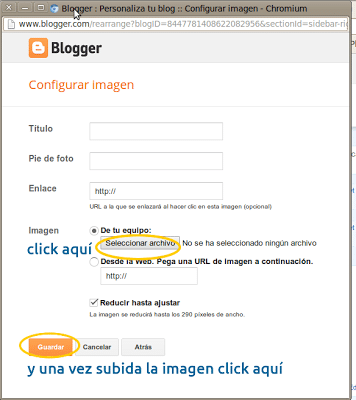 poner imagen en barra de blogger
