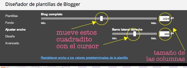 columnas blogger