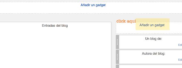 paso 1. Cómo poner nube tags en blogger