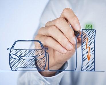 Una batería con electrodos líquidos que se puede recargar o rellenar