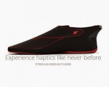 Un calzado inteligente con ayuda de navegación