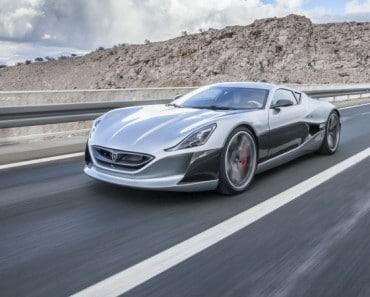 El coche eléctrico más rápido del mundo es croata y alcanza 354 km/h