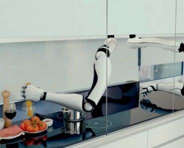 Moley el robot que cocina imitando a los mejores chefs