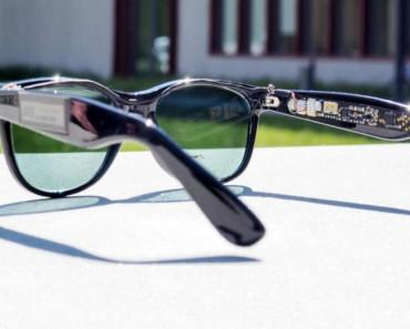 Unas gafas de sol que generan electricidad
