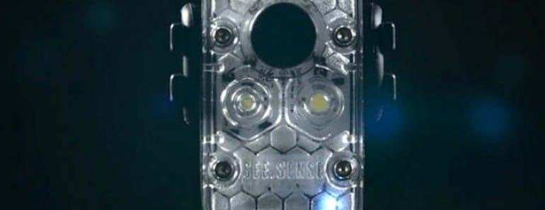 Nueva luz inteligente para bicis de See.Sense