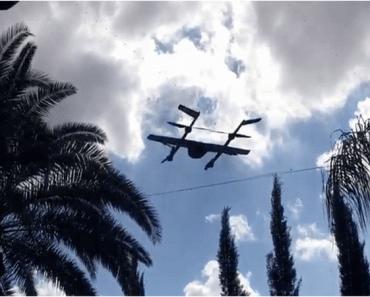 Google prueba un nuevo prototipo de dron para el envío de paquetes