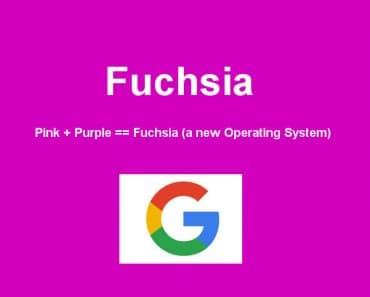 Google trabaja en un nuevo sistema operativo denominado Fuchsia
