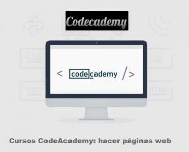Aprender a hacer un sitio web con la CodeAcademy