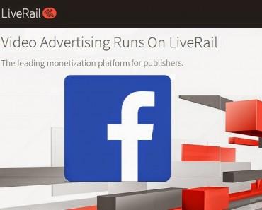 LiveRail (anuncios en vídeo) compra estratégica de Facebook