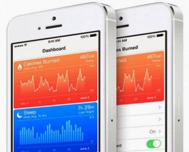 7 primeras Apps de salud con HealthKit (Apple, iOS 8.0.2) en la AppStore
