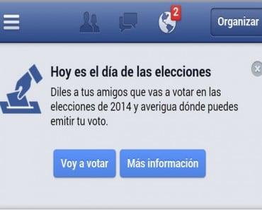 """¿Activará Facebook su botón """"Voy a votar"""" para las elecciones generales en España?"""