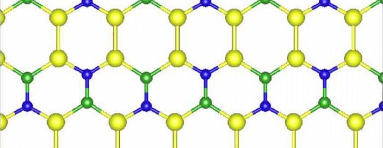 Nuevo material 2D que podría reemplazar al grafeno