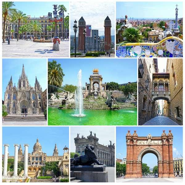 Castillos y palacios de barcelona for Parques y jardines de barcelona