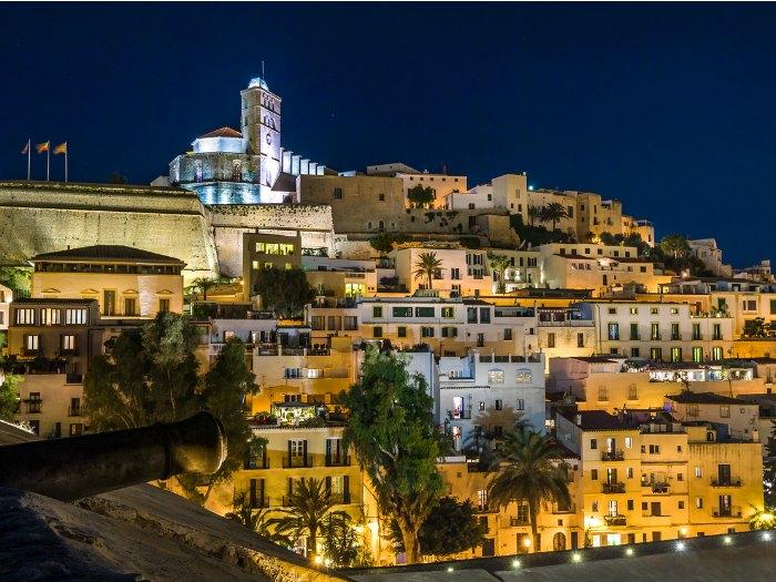 Dalt de Vila, casco histórico de Ibiza
