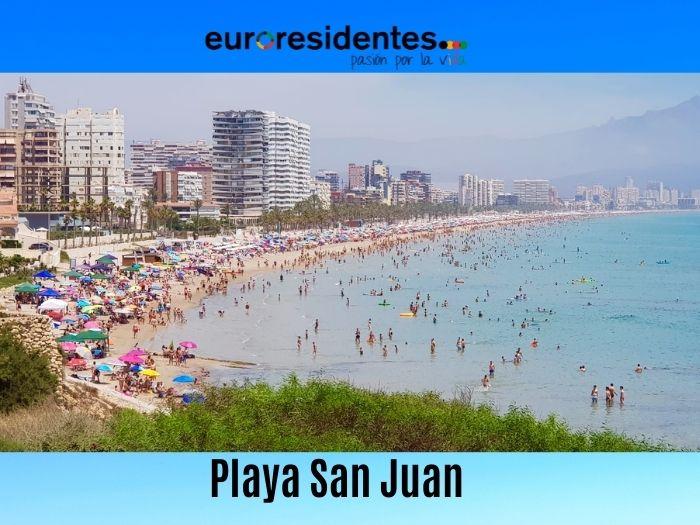 Playas de Alicante: Playa San Juan