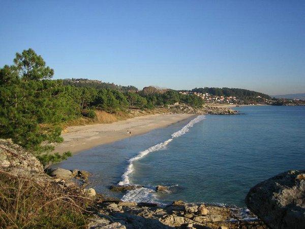 Playas en Pontevedra: Playa de Viñó