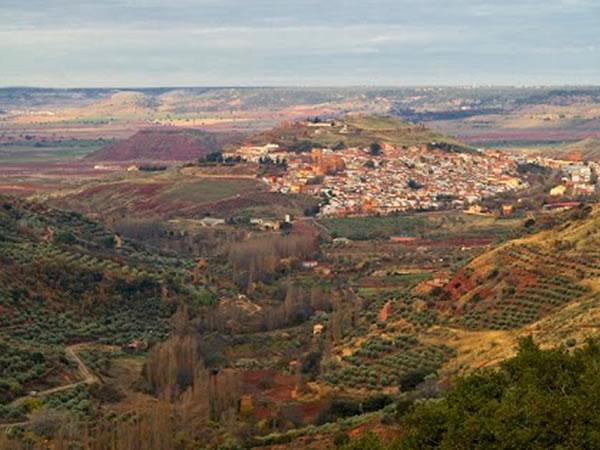 Pueblos de la sierra de Alcaráz