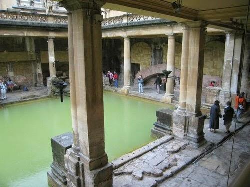 Baños Romanos De Bath:baños romanos de bath