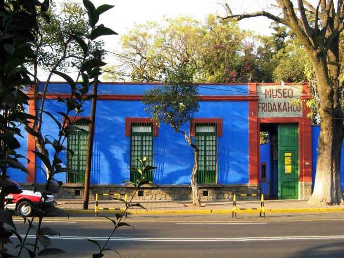 Casa Azul o Museo Casa Frida Kahlo, México