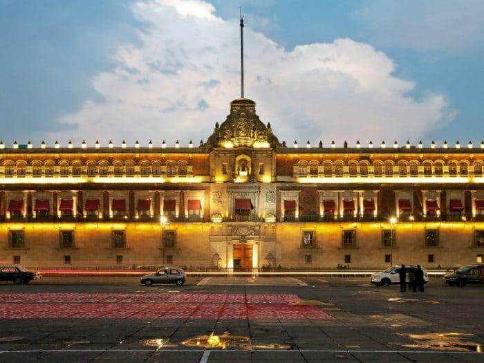 Palacio Nacional. Sede del Gobierno Federal, México