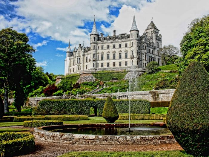 Jardines en Escocia
