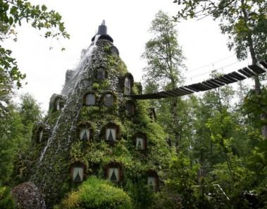 Hotel Montaña Mágica en los Andes, Chile