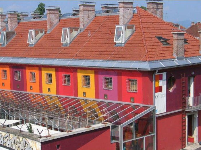 Hostel Celica, Ljubljana (Eslovenia)