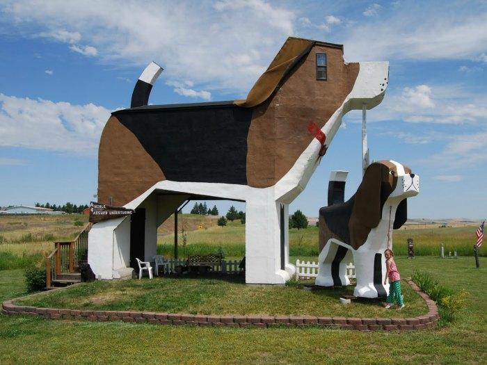 Hotel The Dog Bark Park Inn, Idaho (EEUU)