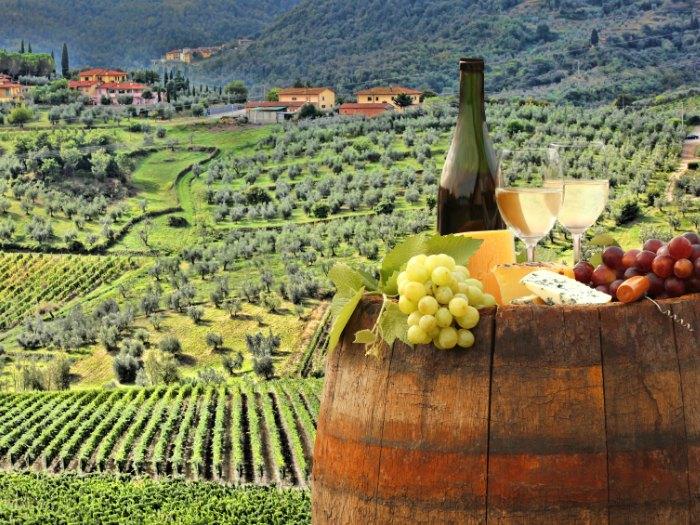 La Región de Chianti, Toscana (Italia)