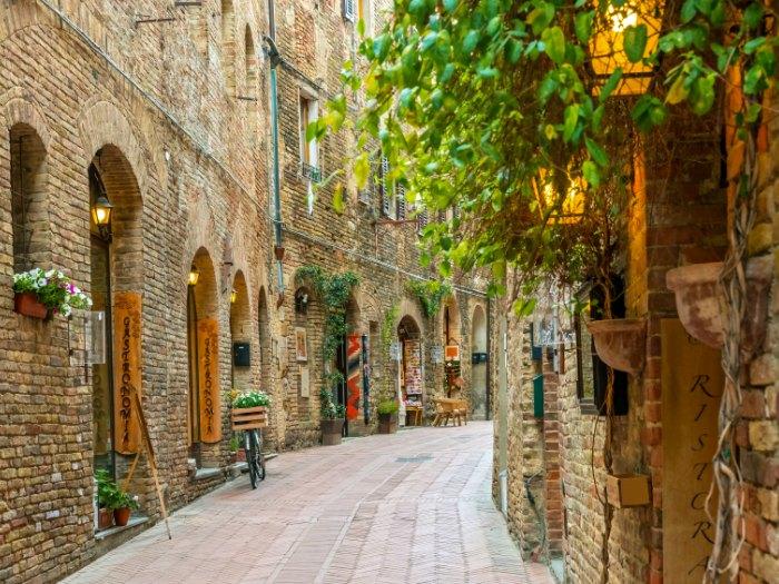 San Gimignano, Toscana (Italia)