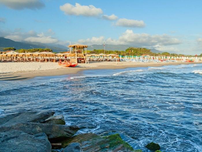 Playas de Versilia, Toscana (Italia)