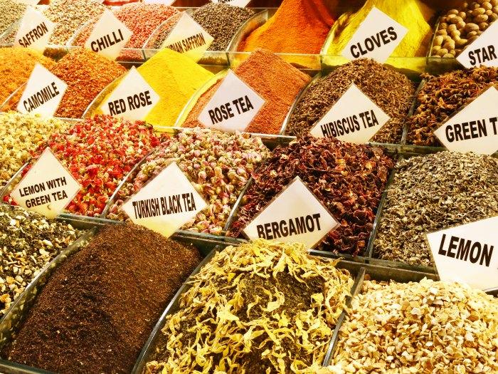Especias en Turquía