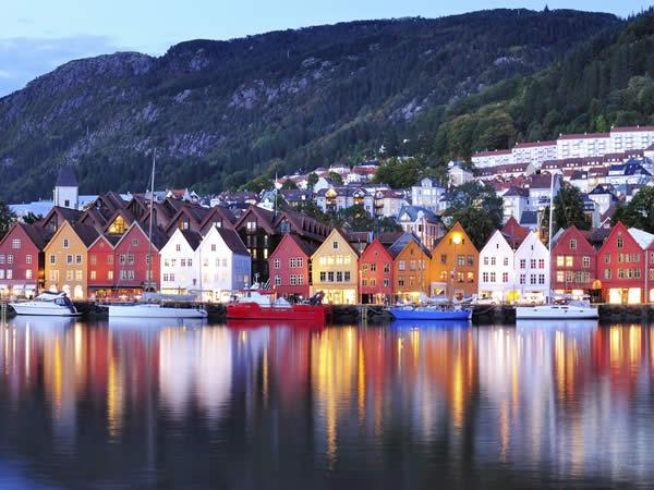 Solsticio de verano en Noruega