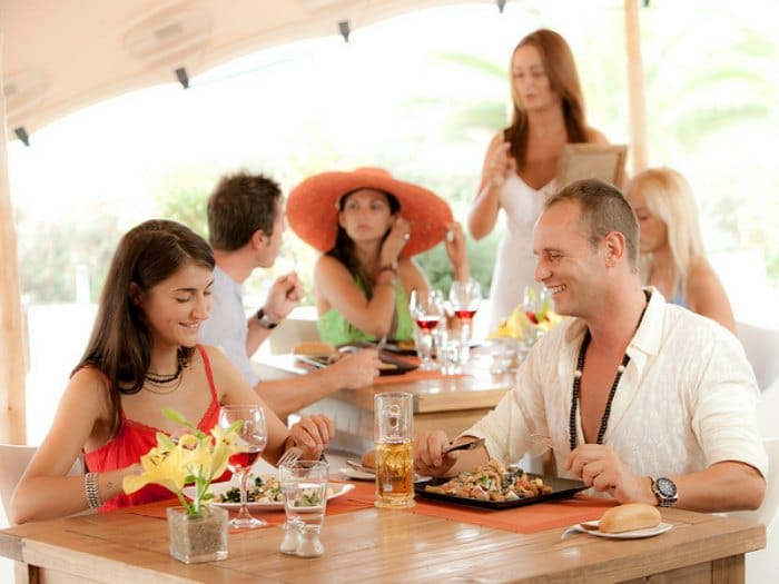 Restaurante South Beach Club